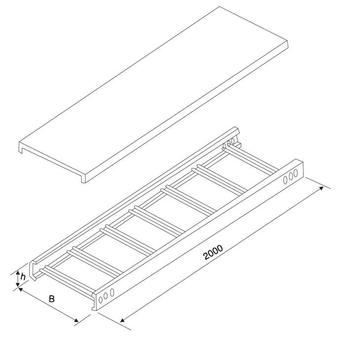 梯式桥架系列
